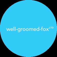 Well Groomed Fox Logo